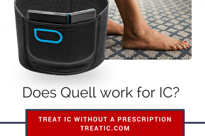 does the quell tens unit work for ic pain